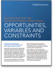 blockchain in the manufacturing supply chain